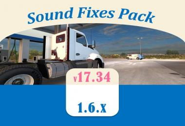 Sound Fixes Pack v17.34 for ATS