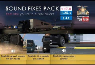 Sound Fixes Pack v17.31 for ATS