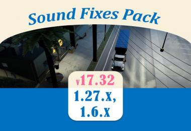 Sound Fixes Pack v17.32 for ATS