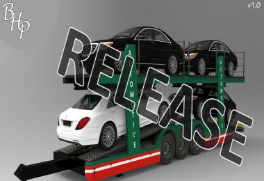 Stobart Automotive Trailer v1.0