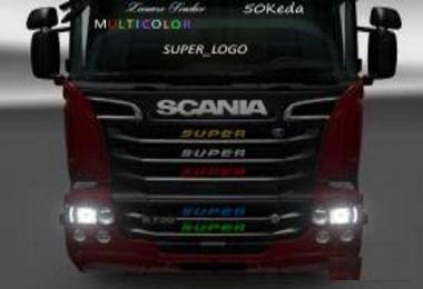 Super logo multicolor v1.0