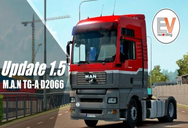 Update 1.5 MAN TGA 18.430 D 2066 Engine voice records