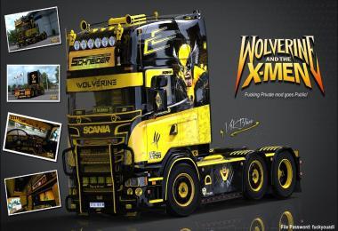 V8K R520 Wolverine Scania v5.0