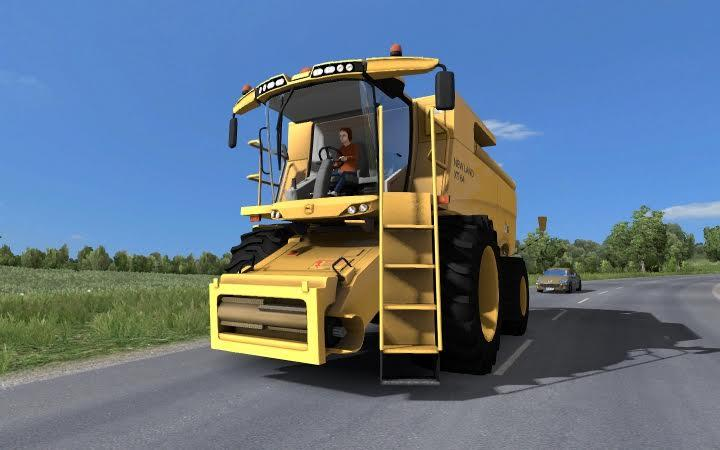 Tractor with trailers in traffic v3.4 [1.27.x]