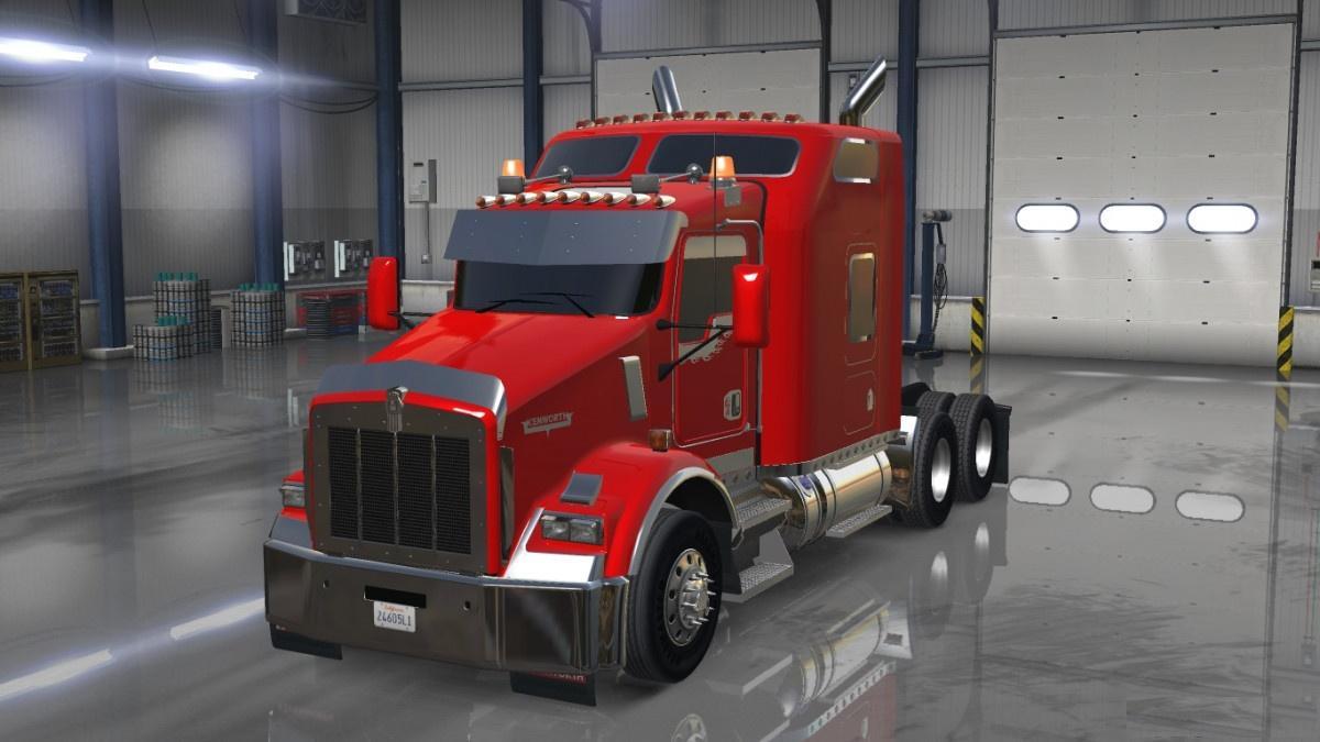 Kenworth T800 Update
