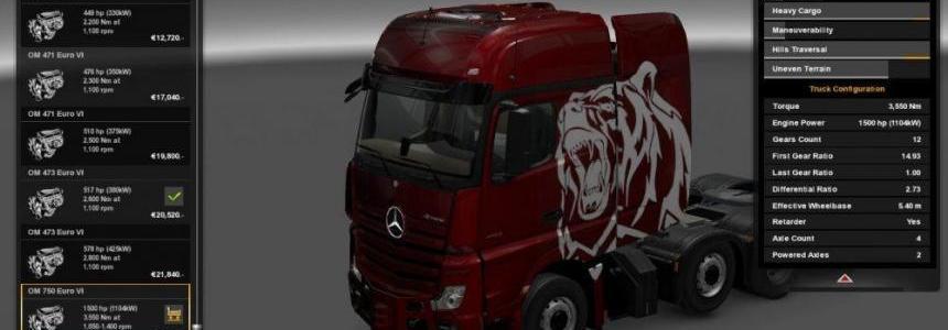 1500 HP Power for all Trucks