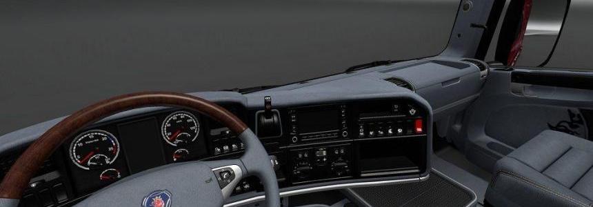 Scania RJL Grey Interior v1.0