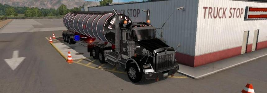 3 axle Chrome Tanker