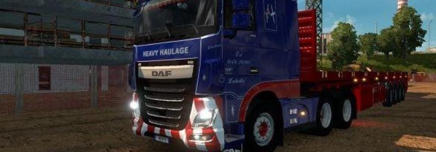 DAF XF Euro 6 Finnie Heavy Haulage