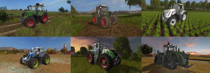 Fend Vario Tractors Pack v1.0