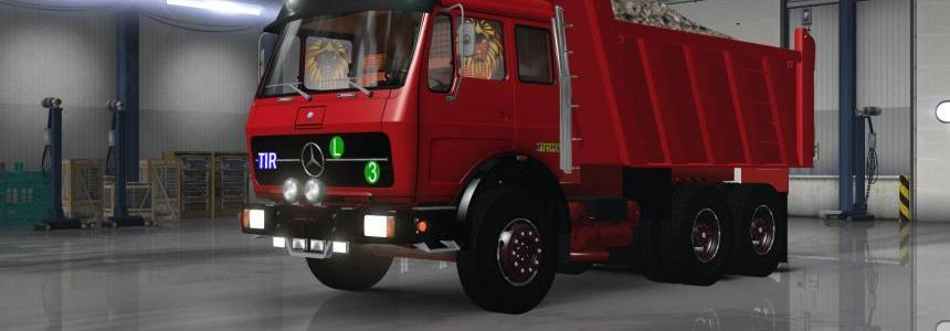 Mercedes Benz 1632 only 1.27 FIXED