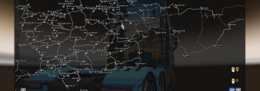 Morozov Express Map v6.9