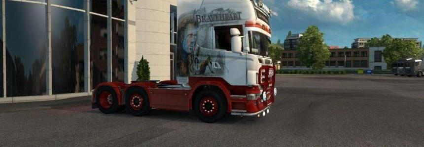 Breaveheart Skin for Scania 50k