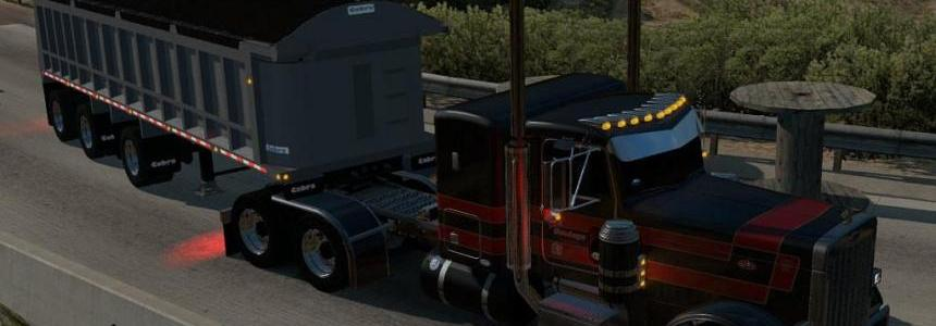 Cobra Tri Axle Dump Trailer