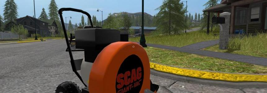 Scag Walk Behind Leaf Blower