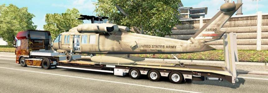 Trailer Holleman & Cargo UH-60 Black Hawk v3.0