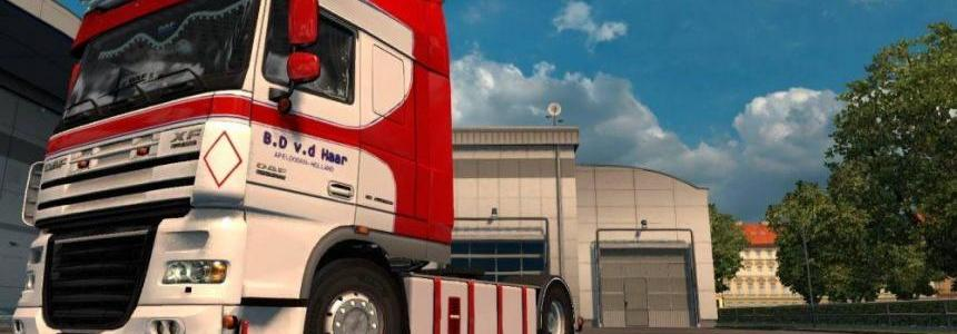 B.D. v.d. Haar Skin for DAF By Stanley