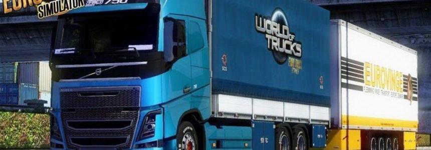 BDF Tandem Truck Pack v76.5 1.27