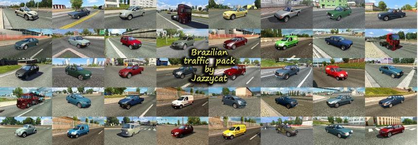 Brazilian Traffic Pack by Jazzycat v1.6