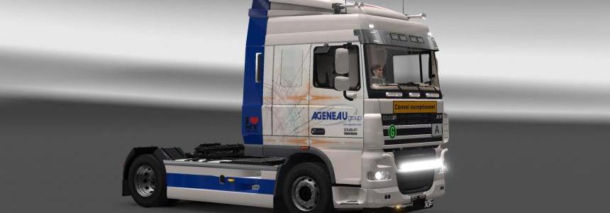 DAF XF 105 Agenau Group skin 1.27