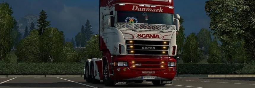 Danmark Scania Skin