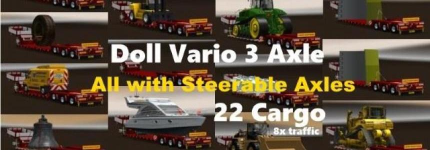 Doll Vario 3Achs with new backlight and in traffic v6.1