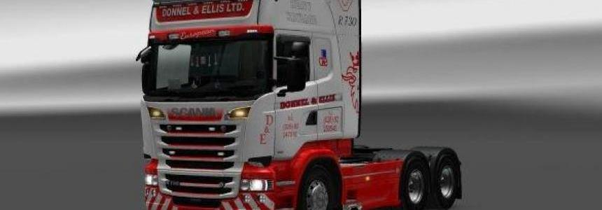 Donnel & Ellis Heavy Haulage Skin