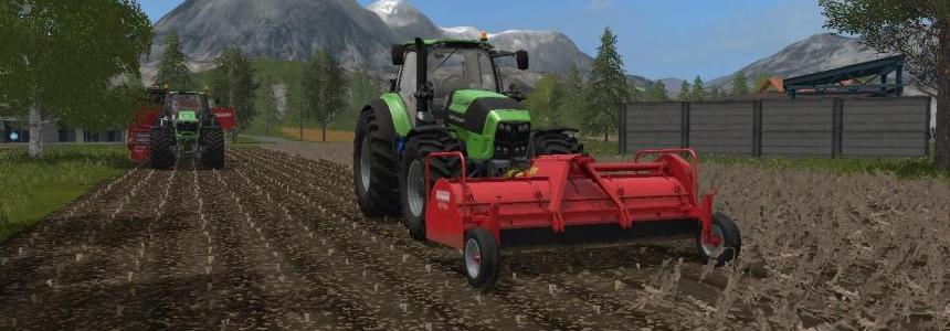 EuroMap Farming simulator 17 v1.0