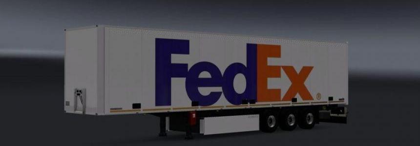 FedEx Trailer Skin