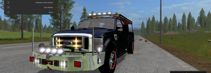 Ford F-350 Brush Truck v1.0