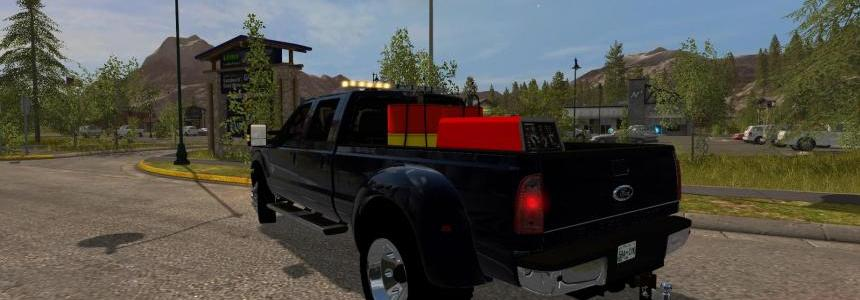 FORD F350 WORK TRUCK v1.2