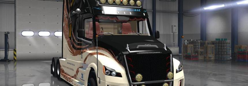 Freightliner Inspiration v1.0 + SiSL's Mega Pack v2.5.1