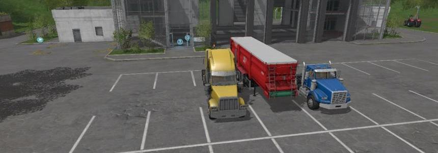 FS17 American Truck And Krampe SB3060 Trailers v5.0