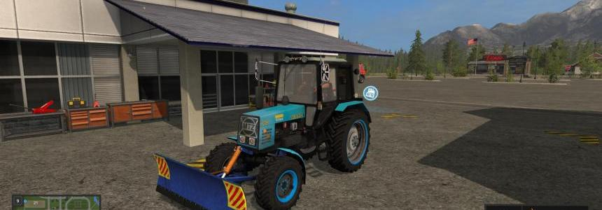 FS17 MTZ 952 and blade v1.0