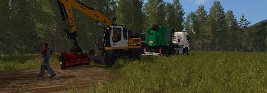 tracteur forestier fs 2017