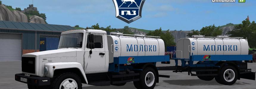 GAZ 3309 Milch und Wasser v1.1.0.0