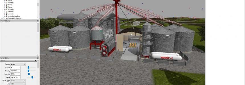 Grain Storage Bins v1
