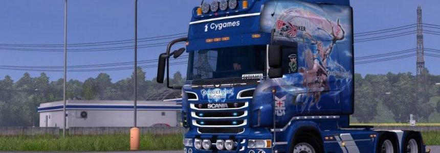 Granblue Fantasy feat. DB Schenker for Scania RJL