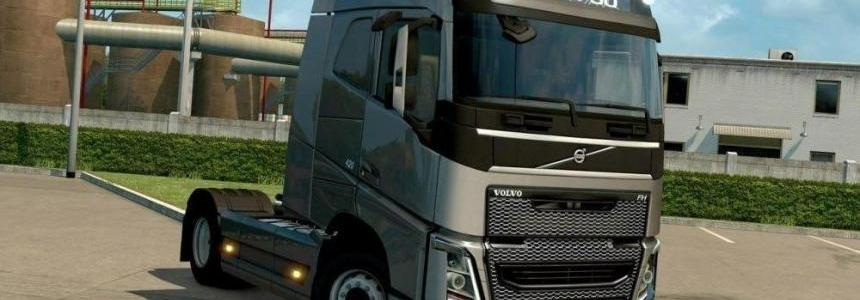 Gray grille all VOLVO FH 2012 engines