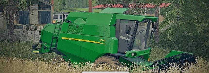 John Deere W330 + John Deere 319R v1.0