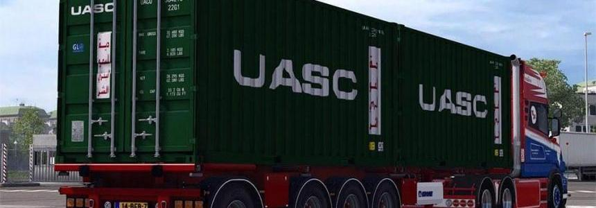 Krone Container 4axe v1.27