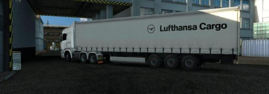 Lufthansa Cargo (Krone) Trailer v1.0