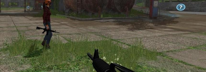 M4 Gun FS2017 v1.0