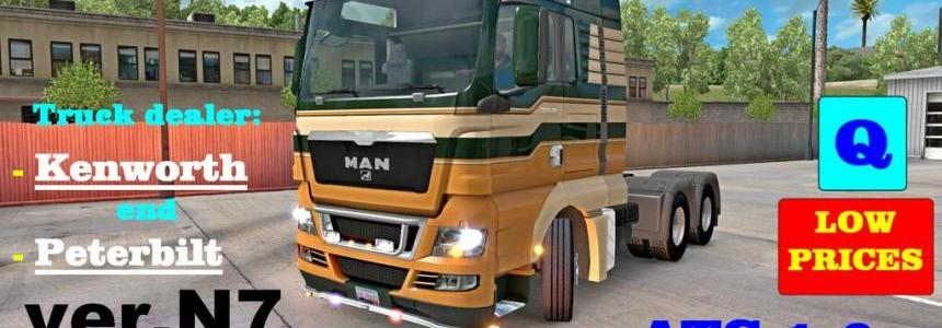 MAN-TGX v7.0 (v1.6.x) for ATS