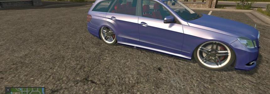 Mercedes E350 Blue v1.0
