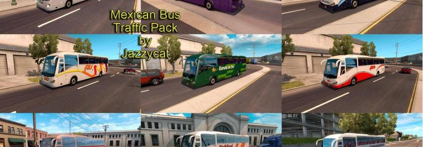 Mexican Bus Traffic Pack by Jazzycat v1.0