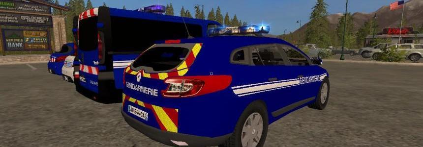 Pack Gendarmerie - Police FS17