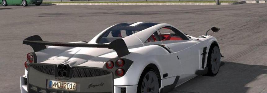 Pagani Huayra Bc Sports Car