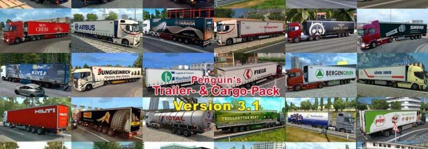 Penguins Trailer and CargoPack [Update 01.05.2017] v3.1