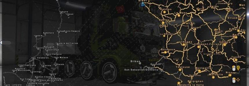 ProMods v2.16 + EAA Map v4.2 Fix [1.27.x]